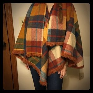Fall Colored Poncho!